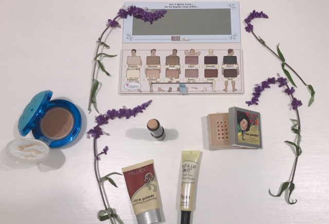 Pink makeup for summer