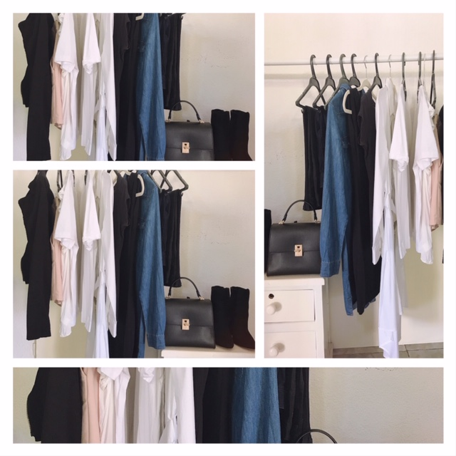 Minimalistic capsule wardrobe for summer
